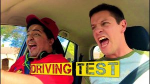 Comedy Shortfilm Poster for Driving Test
